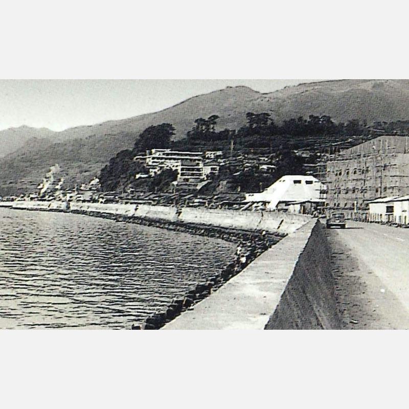 昭和40年頃の南本町体育館付近