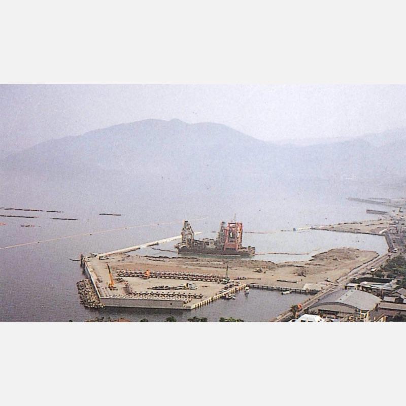 小浜港臨海部再開発事業埋立工事(小浜マリーナ)